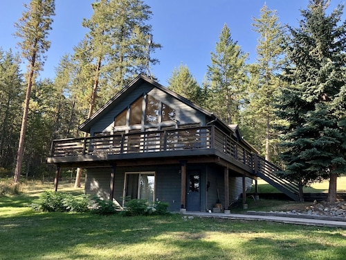 Tree Top Cabin, With Flathead Lake Boat Slip and Access