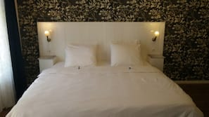 Down duvets, individually decorated, individually furnished