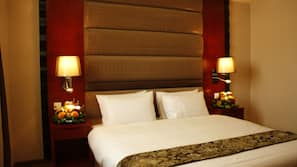 Minibar, blackout drapes, iron/ironing board, rollaway beds
