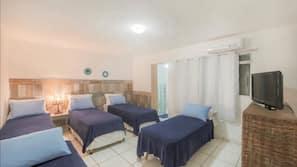 6 Schlafzimmer, Verdunkelungsvorhänge, Rollstuhlgeeignet