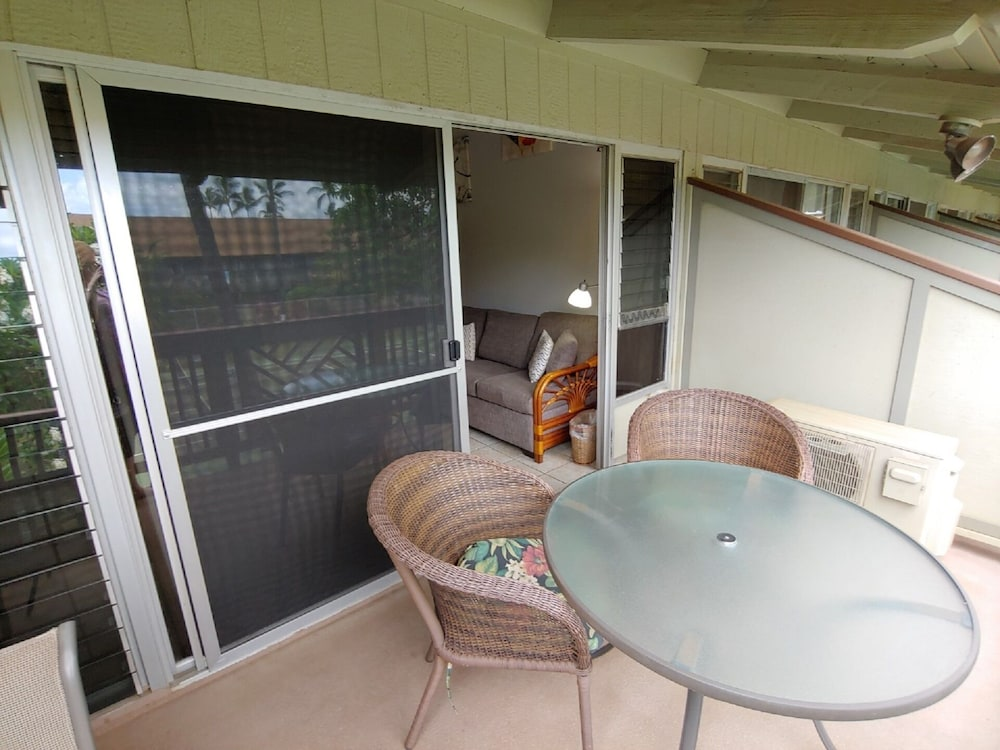 Balcony, Aloha on Maui! Updated Studio With the Luxury of Home~ Inquire Now~