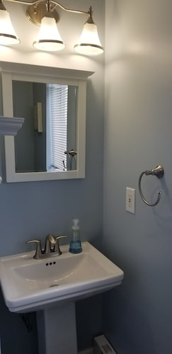 Bathroom, A Stone Throw to Beach and Convention Center and Two Blocks From the Crest!!