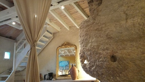 Troglodyte Loft in the Loire Valley in France
