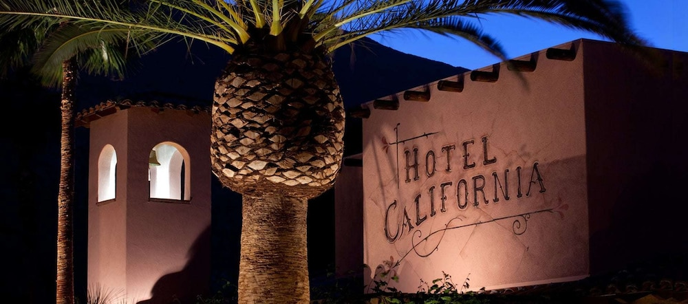 Front of Property - Evening/Night, Hotel California