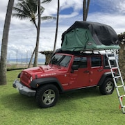 Jeep Wrangler Rubicon 4x4 it is the Ultimate Pop-up Adventure Camper