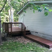 Family-friendly Close to Mohican - Furnished 3 BR With Deck and a Fire pit