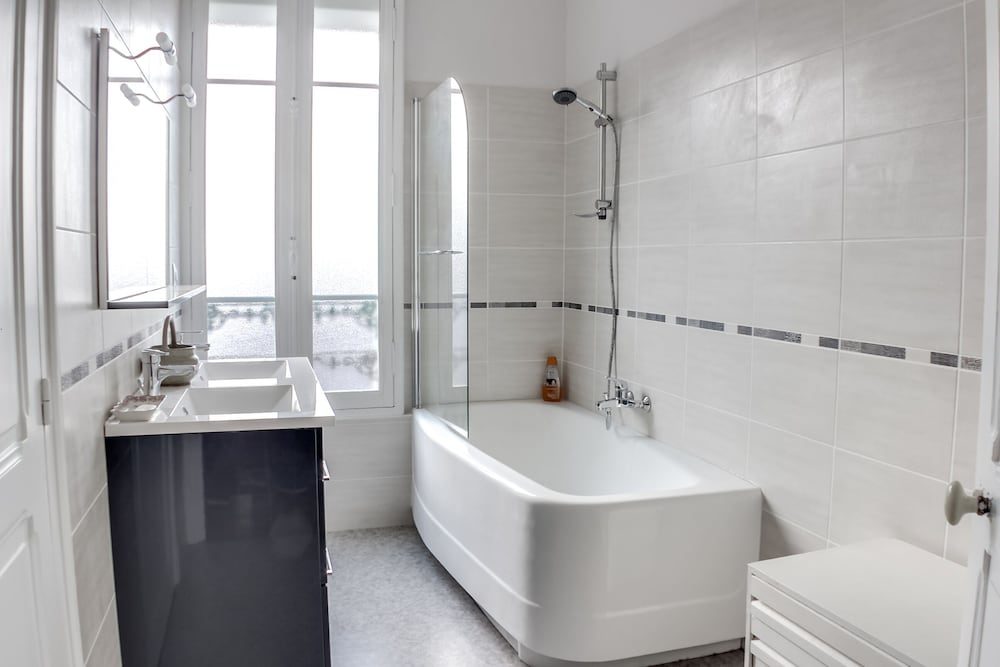 Bathroom, Weekly Rental of a Charming and Characterful House From the Xixth Century