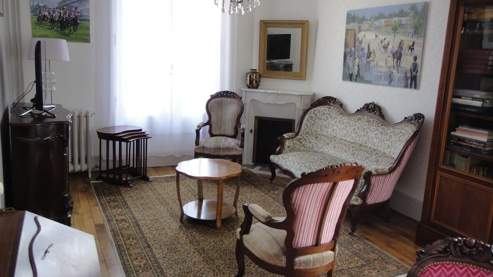 Living Room, Weekly Rental of a Charming and Characterful House From the Xixth Century