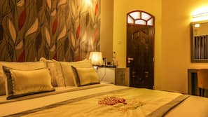In-room safe, individually furnished, blackout curtains