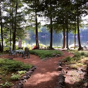 Lakefront-sebago Lakes Region, Long Lake: Pristine Home Perfect for Families!