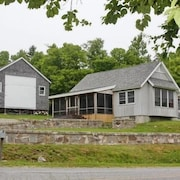 A Charming, Comfortable House and Barn With Water View w