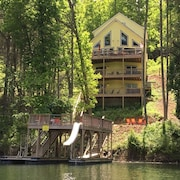 Faith, Family, Friends in Lakeside Estates; Double Decker Dock W/slide