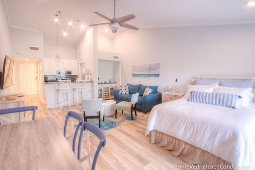 June 27-july 3 Reduced! Renovated in 2019! Beach Condo in Sawgrass Country Club