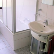 Waschbecken im Bad