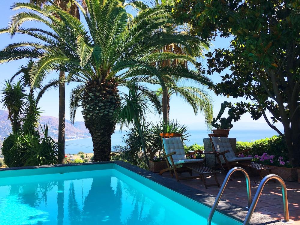 Panoramic Apartment Pool Sea View Terrace Taormina In