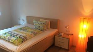 2 sovrum, internet och sängkläder