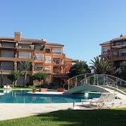 Golf Residence in Bouznika-plage With 2 Swimming Pools;
