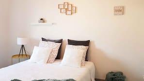 3 dormitorios, tabla de planchar con plancha, wifi y ropa de cama