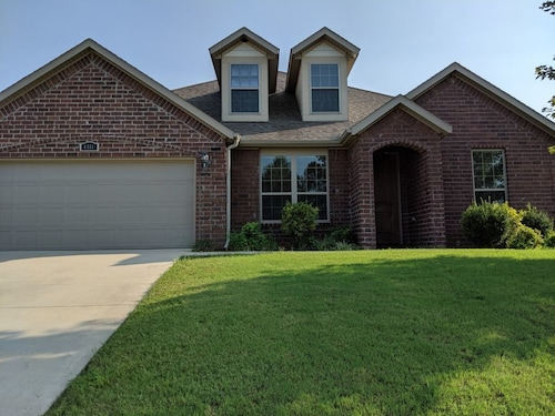 New Construction! Large Family-friendly Home Between XNA & Bentonville