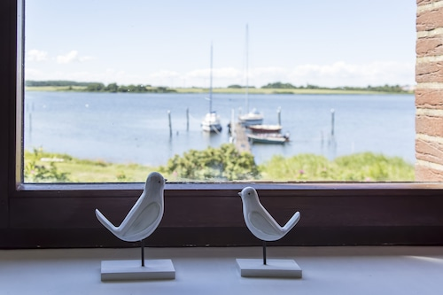 Direct Location on the Schlei: Apartment Upstairs With a Fantastic View