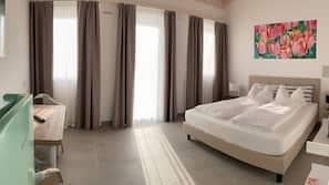 1 soverom, safe på rommet, blendingsgardiner og sengetøy