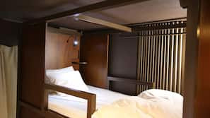 Down comforters, in-room safe, free WiFi, bed sheets