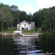 Sunset Place - Modern Lake House on Otis Reservoir - 5 Night Min Stay - Sleeps 6