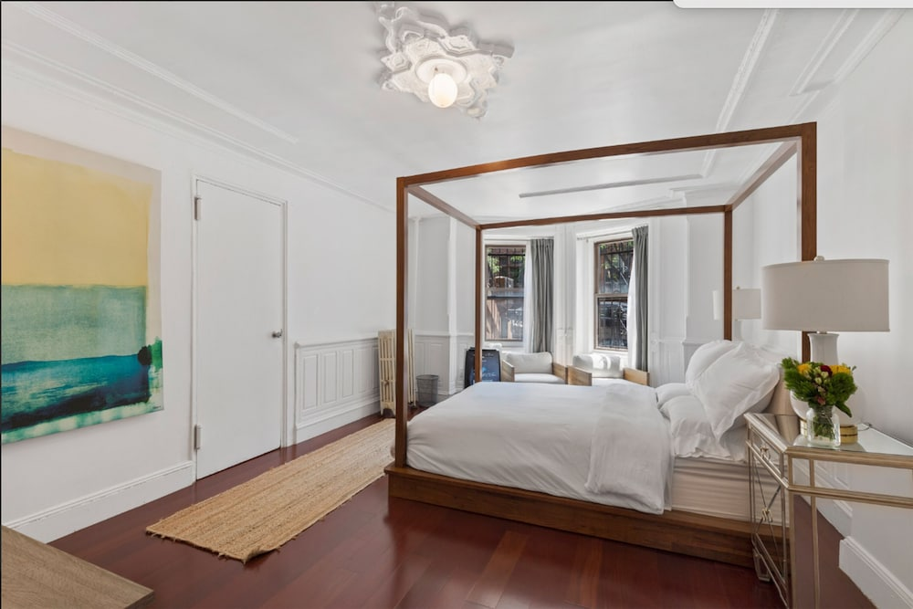 Beautiful Brooklyn Brownstone Garden Apartment With Easy ...