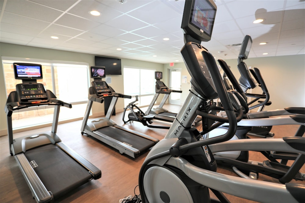 Fitness Facility, Holiday Inn Express And Suites Forney, an IHG Hotel