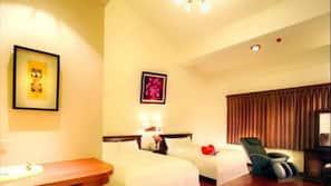 設計自成一格、家具佈置各有特色、書桌、免費 Wi-Fi