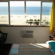 Comfortable Apartment, on the Coast of Copacabana, With a Total Panoramic View