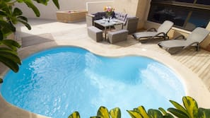 Udendørs pool, en opvarmet pool