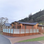 Luxury Lodge Park Hendre Rhys Gethin Snowdonia National Park North Wales