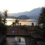 Apartment With 2 Bedrooms in Fiumelatte, With Wonderful Lake View, Enclosed Garden and Wifi
