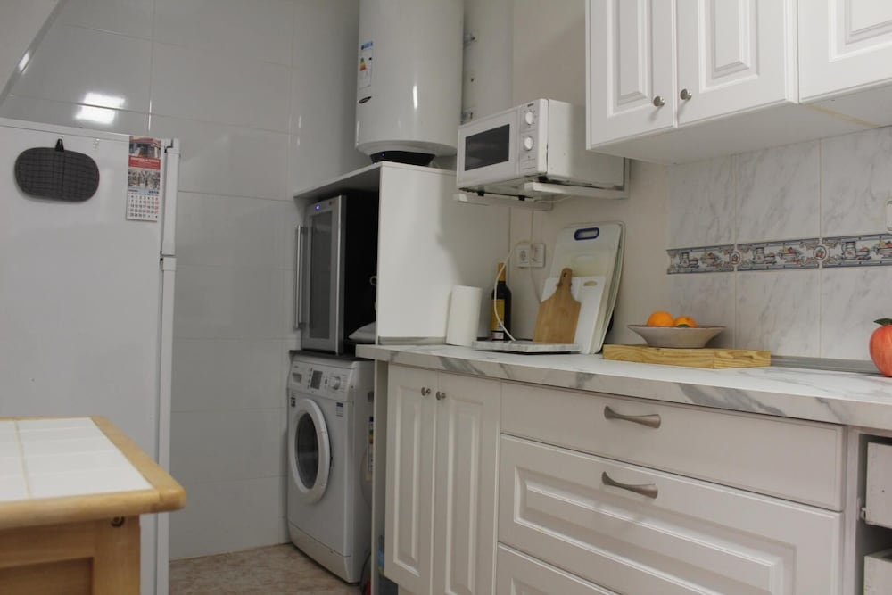 Private Kitchen, Playa Flamenca, 2 Bedroom Bungalow With Communal Pool