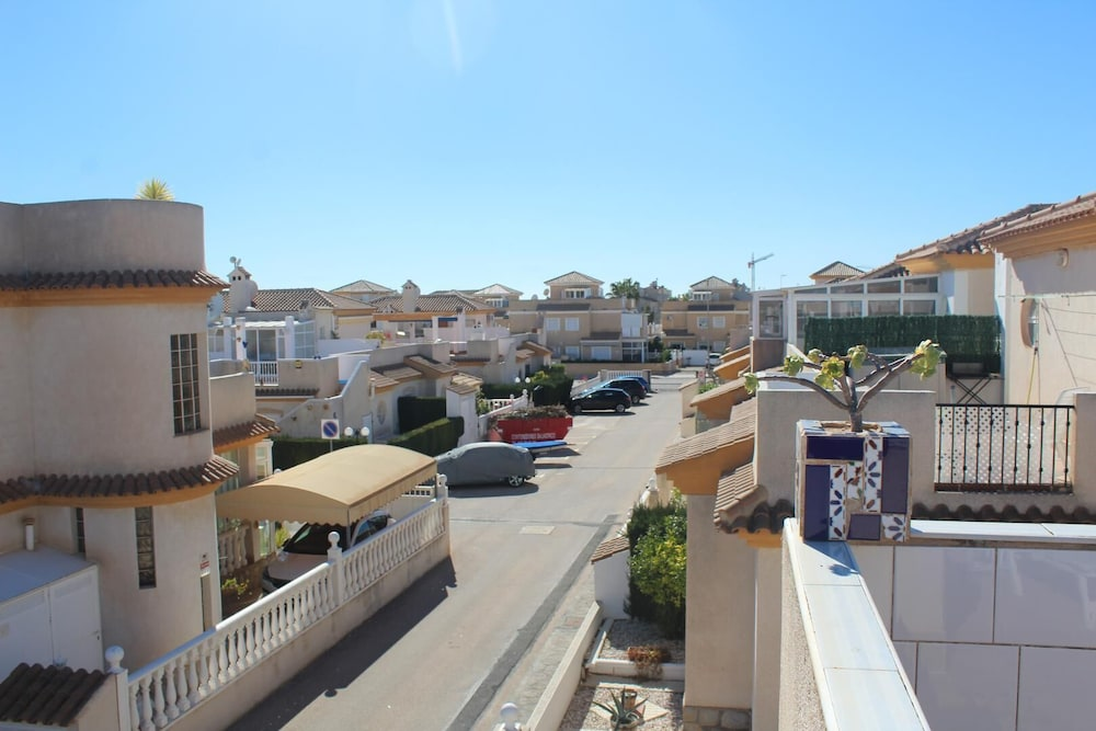Balcony, Playa Flamenca, 2 Bedroom Bungalow With Communal Pool