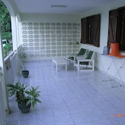House With 2 Bedrooms in Petit Bourg, With Wonderful sea View, Furnished Terrace and Wifi - 3 km From the Beach