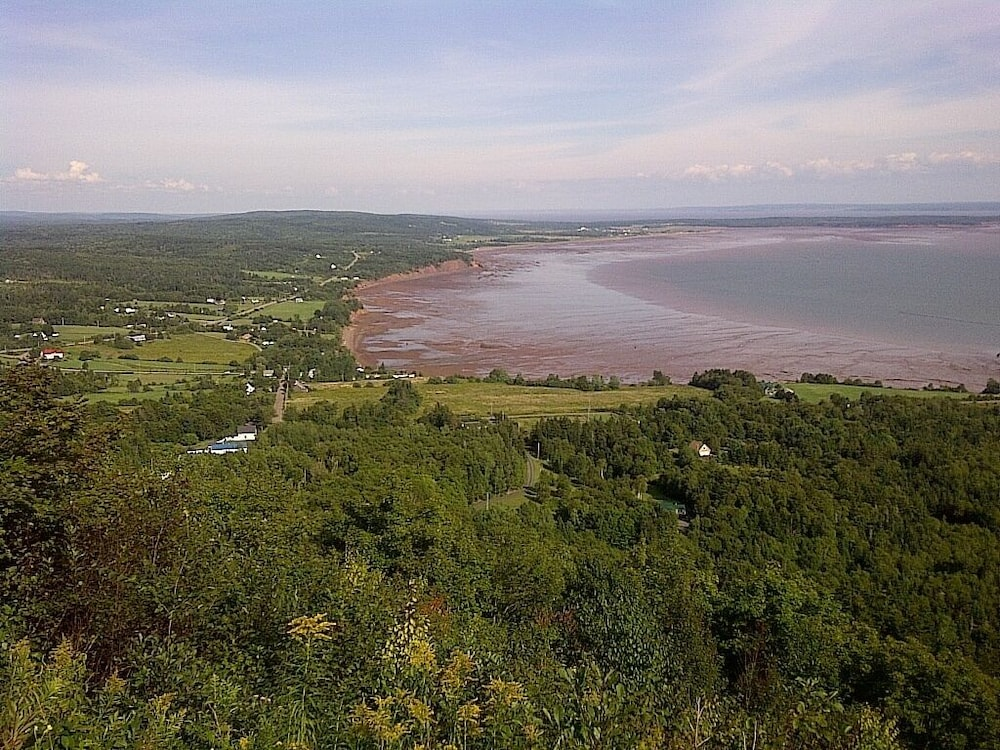 , Hiking on Economy Mountain, Strolling the Beach in the Cliffs of Fundy Geopark