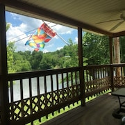 Kentucky Bourbon Trail Lakehouse With Dock no Cleaning Fees Contactless Entry
