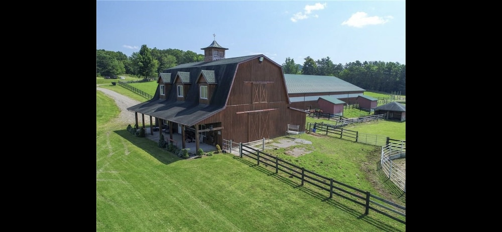 , The Nunda Ranch Near Letchworth State Park