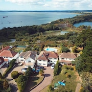 Harbour Vista is a Detached House in Poole, With its own Private Swimming Pool