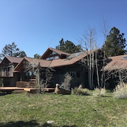 Beautiful 4-bedroom Mountain Chalet on 47 Acres in Boulder, CO