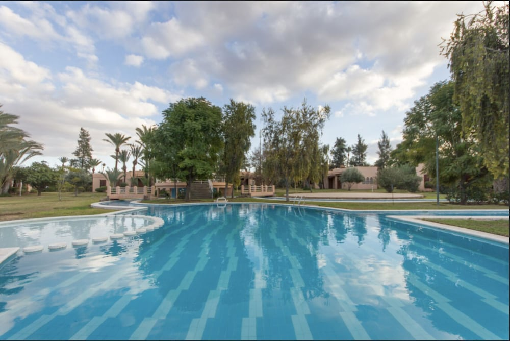 Peaceful Villa With Pool & Tennis in the Palmeraie in
