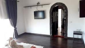 2 soveværelser, skrivebord, strygejern/strygebræt, gratis Wi-Fi