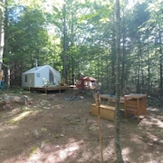 Tentrr - The Lost Boys Hideout - Campsite
