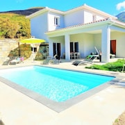 Villa With 4 Bedrooms in Farinole, With Wonderful Mountain View, Private Pool, Furnished Garden - 900 m From the Beach