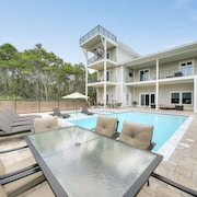 Golf Cart Included, King Suites With Private Bathrooms! Crows Nest for Gulf View