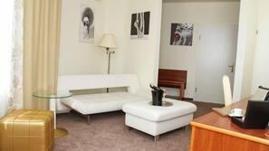 Allergikerbettwaren, Zimmersafe, Bügeleisen/Bügelbrett, kostenloses WLAN