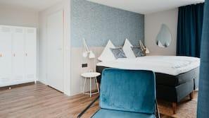 Schreibtisch, kostenloses WLAN, Bettwäsche, Rollstuhlgeeignet