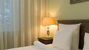 1 makuuhuone, silitysrauta/-lauta, internet, vuodevaatteet